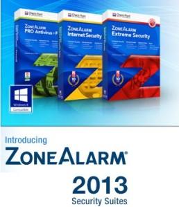 ZoneAlarm 2013