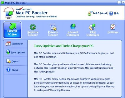 Max PC Booster