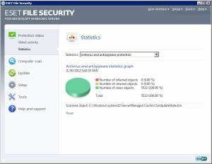 ESET File Security for Windows