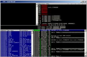 Kali Linux screenshot