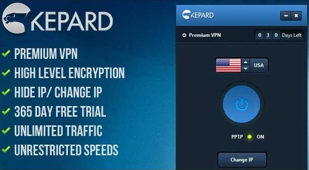 Free Premium VPN Account from Kepard