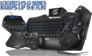 New Logitech G Line of Gaming Peripherals