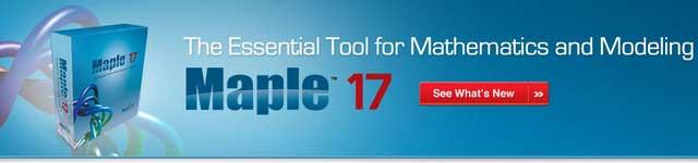 Maplesoft Maple 17