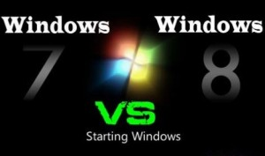 Windows 8 vs Windows7
