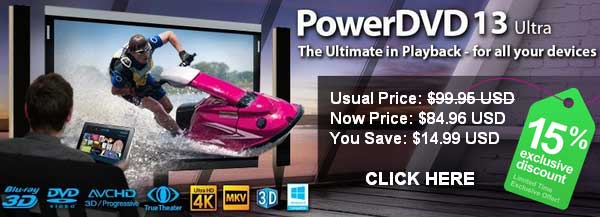 CyberLink PowerDVD 13 Discount