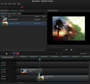 OpenShot Free video editor for Linux, Windows and Mac OS X