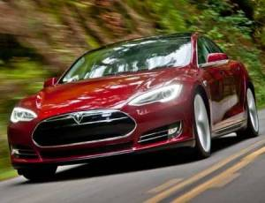 Tesla S Electric Car