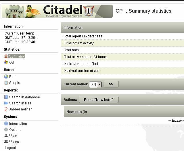 Botnet Citadel