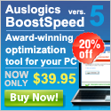 Auslogics BoostSpeed 5 discount