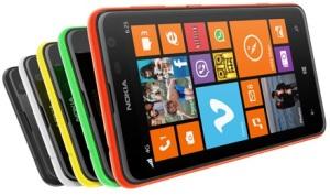 Nokia Lumia 625 smartphone