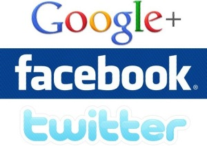 Twitter Facebook Google Plus