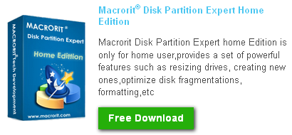 Macrorit Disk Partition Expert 2013 Download