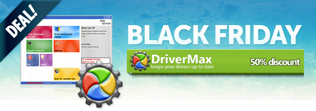 DriverMax Black Friday Deals