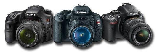 Sony Nikon Canon Single-lens reflex Cameras