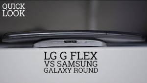 Samsung Galaxy Round Vs. LG G Flex