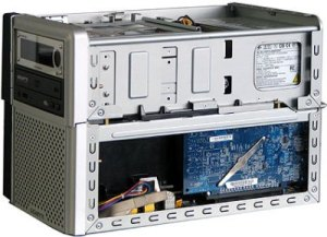 Typical barebone desktop system