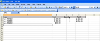 Excel Maths