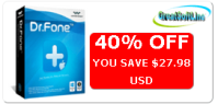 Dr.Fone for iOS Coupon Code