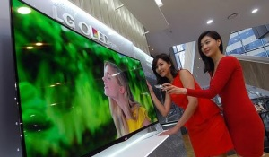 New LG television