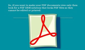 Making PDF Documents